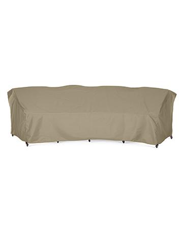Sunpatio Curved Sofa Cover 190 L 128, Curved Patio Furniture Covers